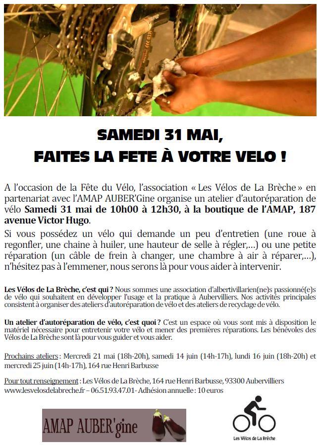 2014 05 31_Affiche Atelier Vélo AMAP
